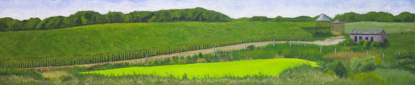 Farmstead Painting - Holding Promise by Garry McMichael