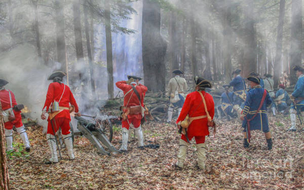Artillery Digital Art - Holding The Line Cook Forest by Randy Steele