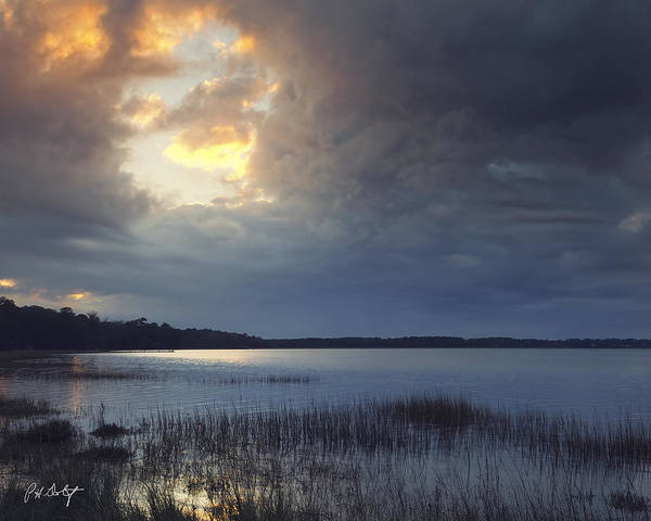 Lowcountry Digital Art - Hole In The Clouds by Phill Doherty