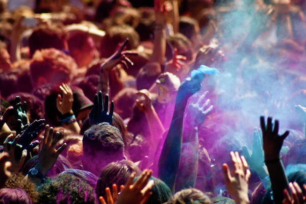Casual Photograph - Holi Festival In Barcelona by Artur Debat