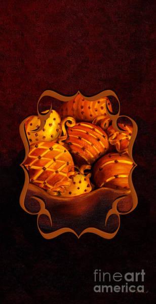 Wall Art - Photograph - Holiday Citrus Bowl Iphone Case by Iris Richardson