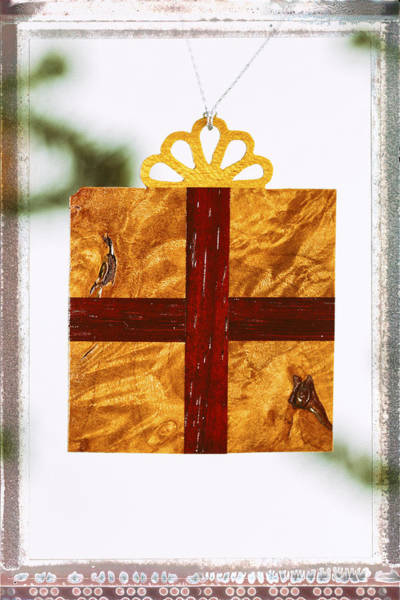 Photograph - Gift Box Holiday Image Art by Jo Ann Tomaselli