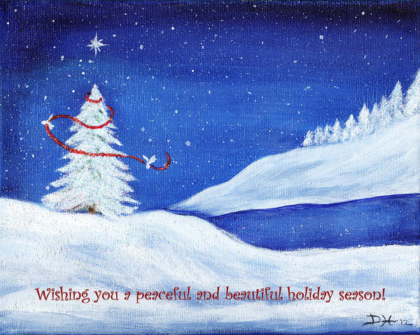 Painting - Holiday Peace by Diana Haronis