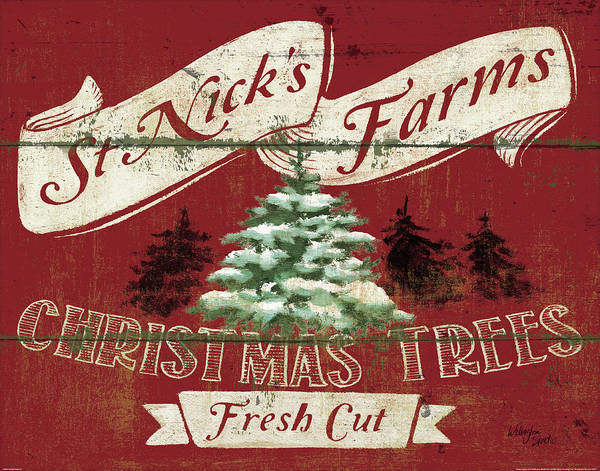 Christmas Tree Farm Paintings Fine Art America