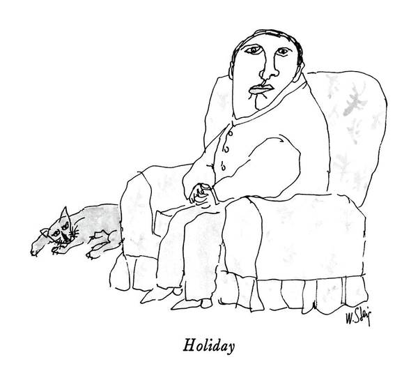 Household Drawing - Holiday by William Steig