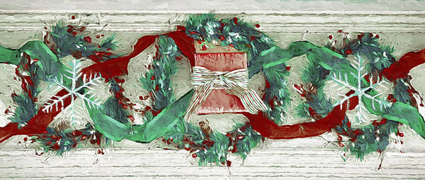 Christmas Season Wall Art - Photograph - Holiday Wreathes by Steve Ohlsen
