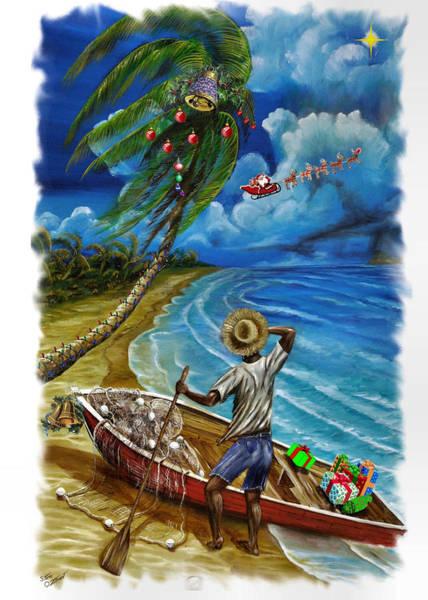 Digital Art - Holidays In The Tropics by Steve Ozment