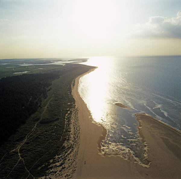 Wall Art - Photograph - Holkham Beach by Skyscan/science Photo Library