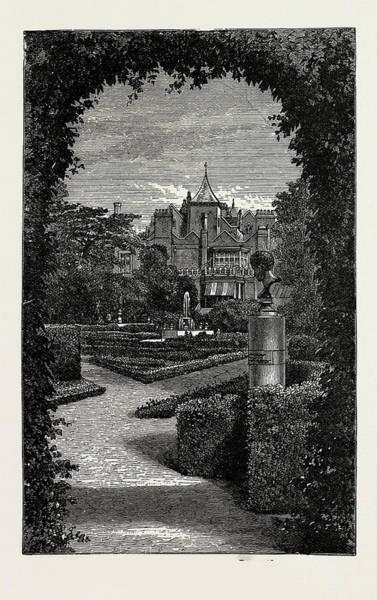 Wall Art - Drawing - Holland House, 1889 Dutch Garden by Litz Collection