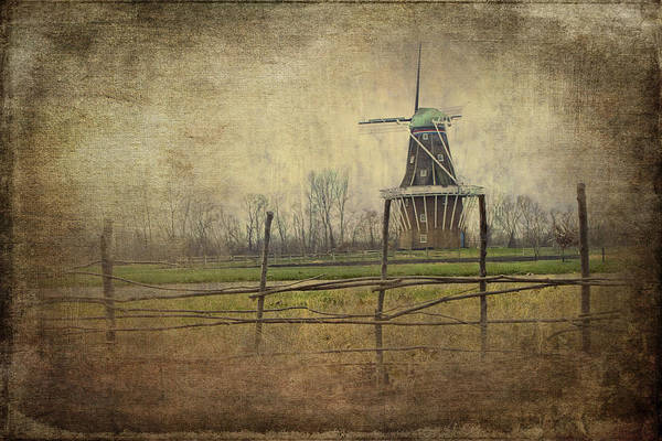 Photograph - Holland Michigan Dezwaan Windmill by Randall Nyhof