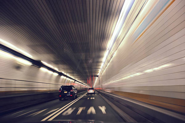 Holland Tunnel Wall Art - Photograph - Holland Tunnel by DeAnn Bonine