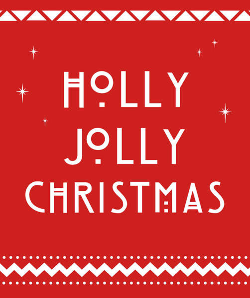 Ugly Painting - Holly Jolly Christmas by Anna Quach