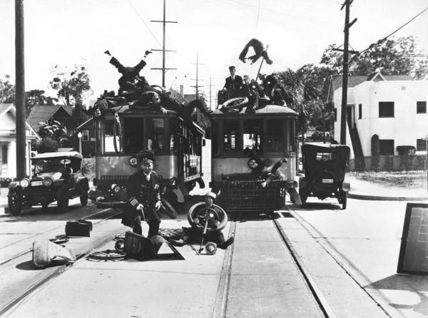 Photograph - Hollywood Calvacade Scene by Underwood Archives
