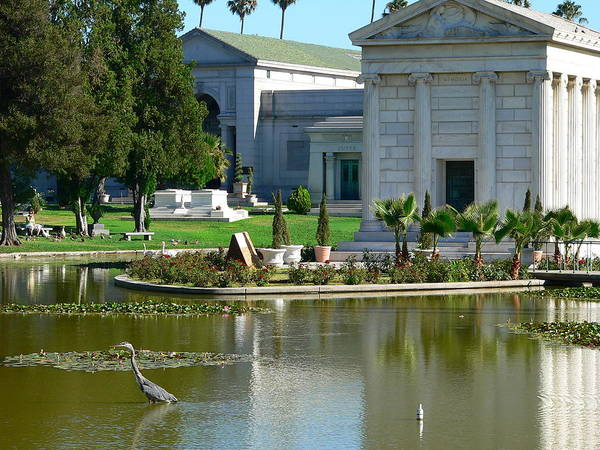 Photograph - Hollywood Forever Cemetery And Mausoleum by Jeff Lowe