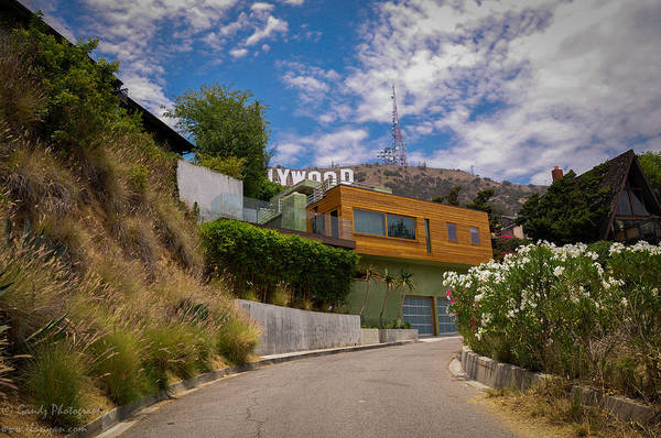Digital Art - Hollywood  by Gandz Photography