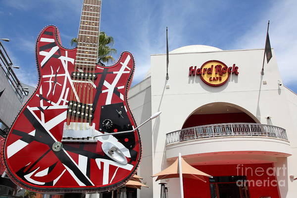 Photograph - Hollywood Hard Rock Cafe In Los Angeles California 5d28423 by Wingsdomain Art and Photography
