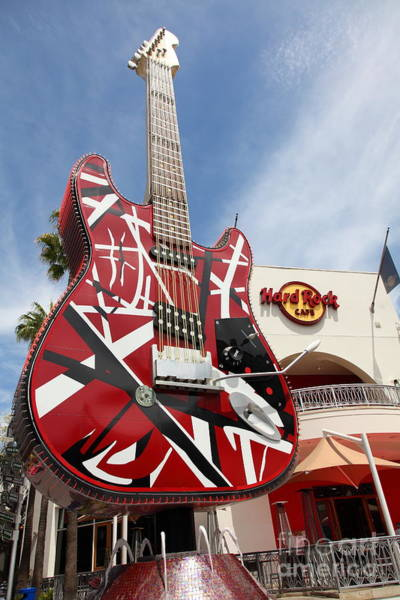 Photograph - Hollywood Hard Rock Cafe In Los Angeles California 5d28434 by Wingsdomain Art and Photography