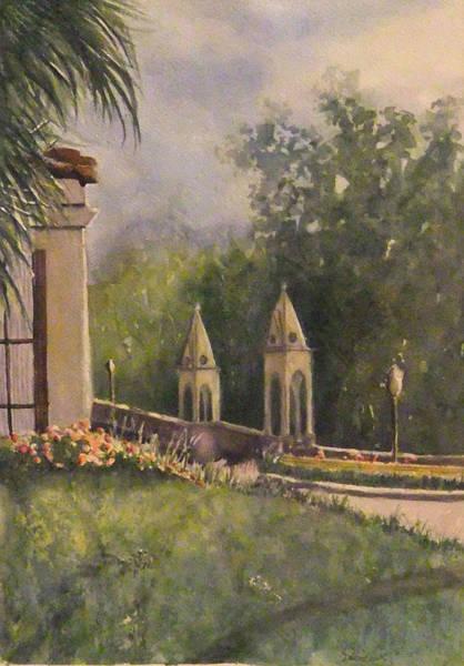 Painting - Hollywood Home by Debbie Lewis