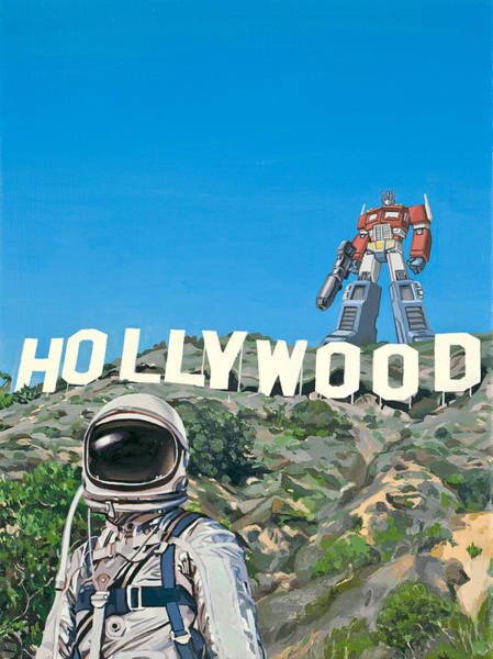 Science-fiction Wall Art - Painting - Hollywood Prime by Scott Listfield