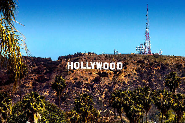 Film Industry Wall Art - Photograph - Hollywood Sign by Az Jackson