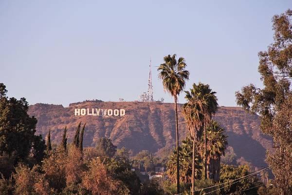 Fantasy Wall Art - Photograph - Hollywood Sign by Tony Castle