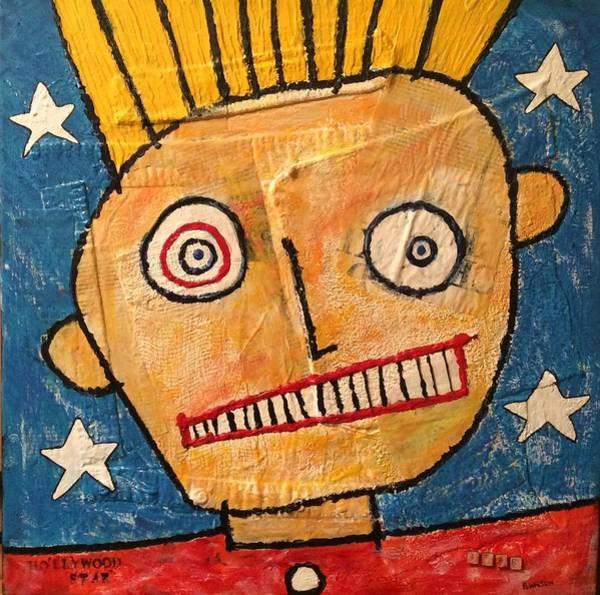 Brian Wilson Wall Art - Painting - Hollywood Star by Brian Wilson