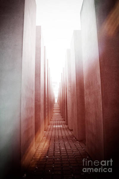 Holocaust Photograph - Holocaust Memorial Berlin by Jane Rix