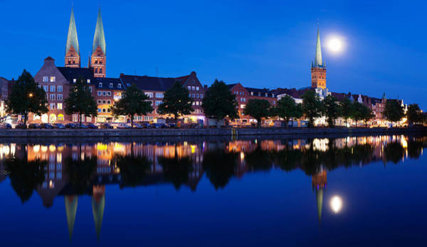 St. Marys Photograph - Holstenhafen On The River Untertrave by Panoramic Images