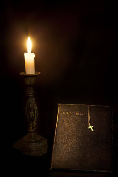 Holy Spirit Photograph - Holy Bible by Bill Wakeley