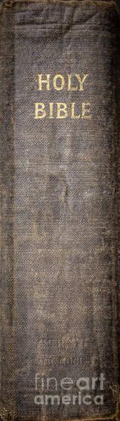 Bible Photograph - Holy Bible by Edward Fielding