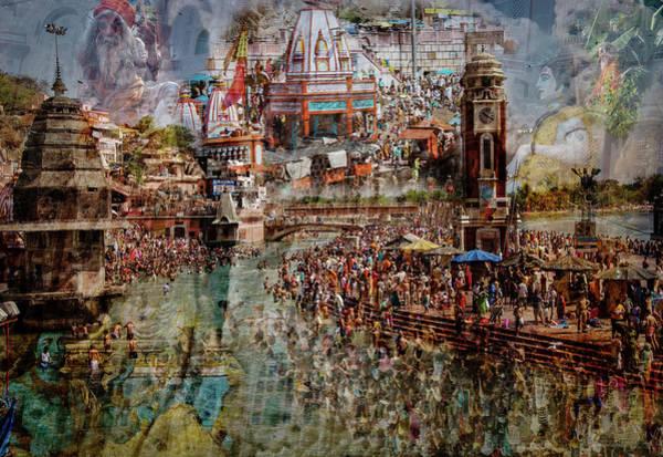 Wall Art - Photograph - Holy India by Ralf Kayser
