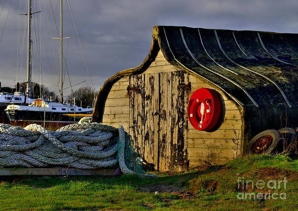 Photograph - Holy Island Fisherman's Hut by Martyn Arnold