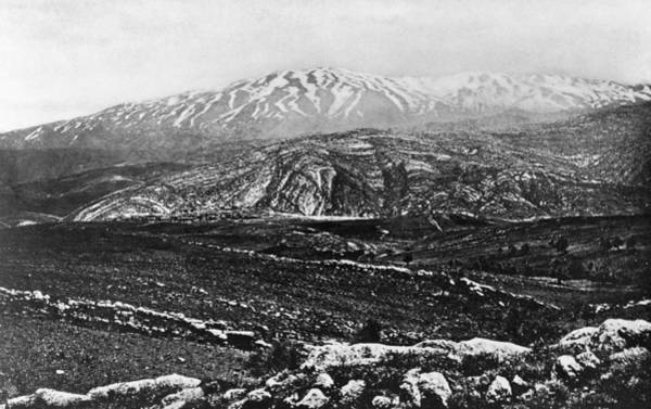 Wall Art - Photograph - Holy Land Mount Hermon by Granger