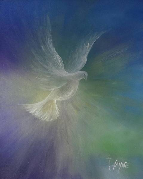 Holy Spirit Painting - Holy Spirit by Jayne Pinnix