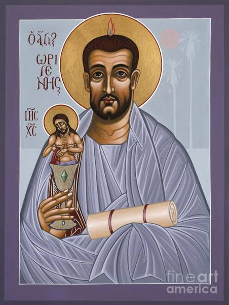 Painting - Holy Theologian Origen 112 by William Hart McNichols