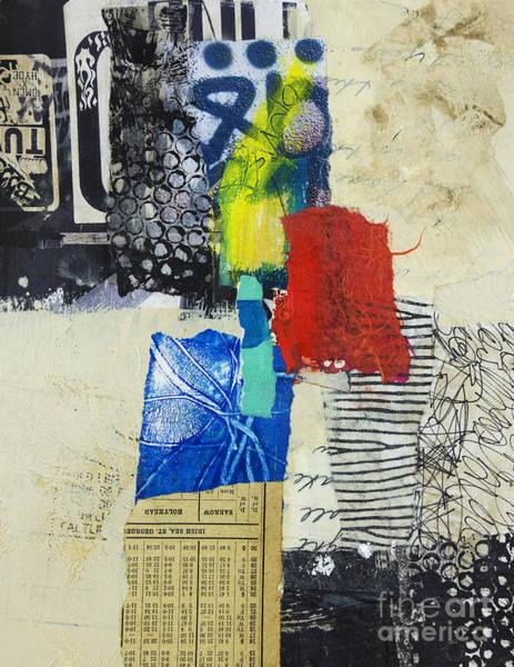 Stripe Mixed Media - Holyhead by Elena Nosyreva