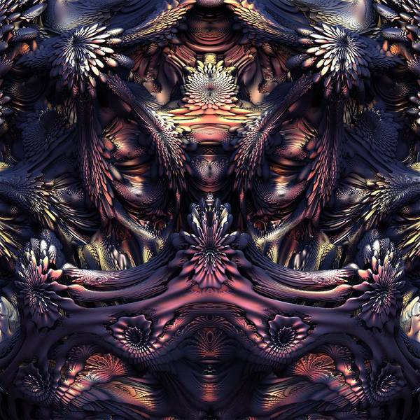 Wall Art - Digital Art - Homage To Giger by Lyle Hatch