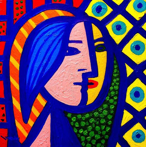 Wall Art - Painting - Homage To Pablo Picasso by John  Nolan