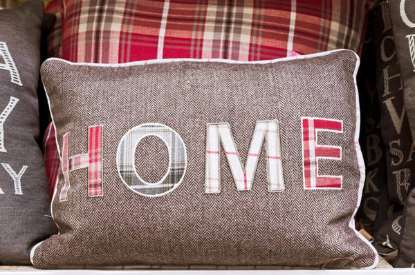 Comfort Photograph - Home Cushion by Tom Gowanlock