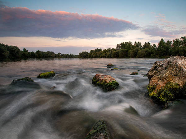 Riverscape Wall Art - Photograph - Home by Davorin Mance