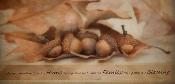 Photograph - Home Family Blessing by Robin-Lee Vieira