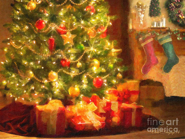 Painting - Home For Christmas by Chris Armytage