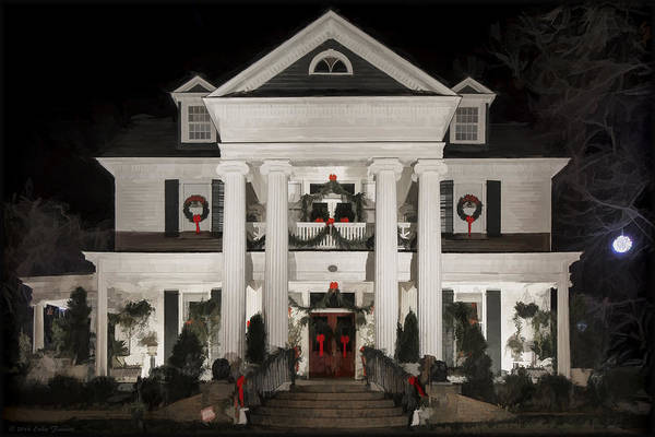 Photograph - Home For Christmas by Erika Fawcett