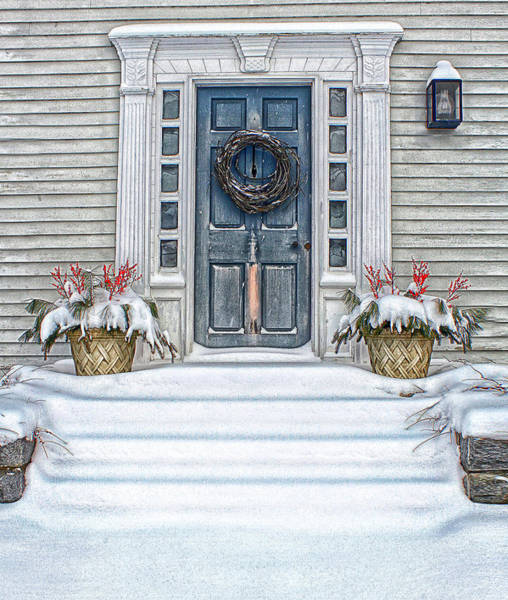 Photograph - Home For The Holidays by John Vose