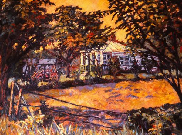 Painting - Home In Christiansburg by Kendall Kessler