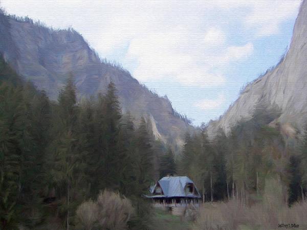 Eastern Europe Digital Art - Home In The Mountains by Jeffrey Kolker