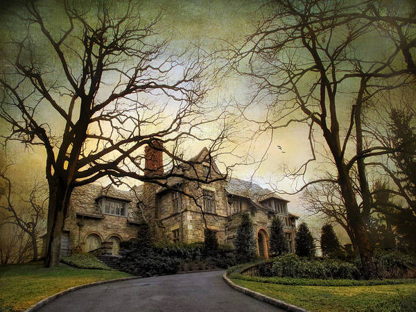 Photograph - Home On A Hill by Jessica Jenney