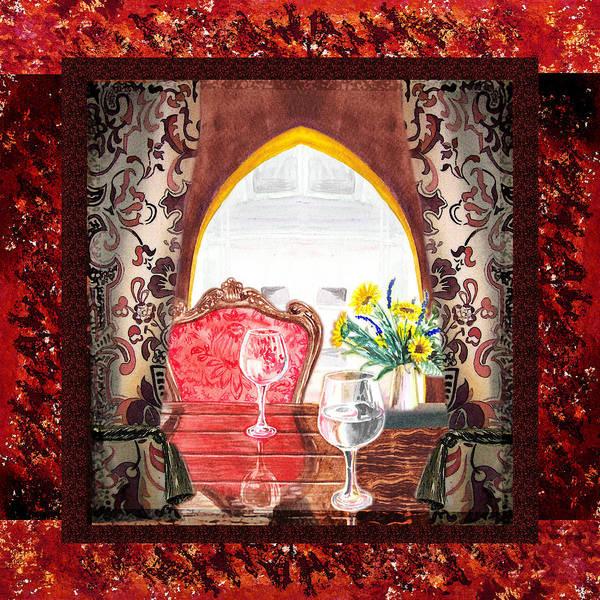 Painting - Home Sweet Home Decorative Design Welcoming Two by Irina Sztukowski