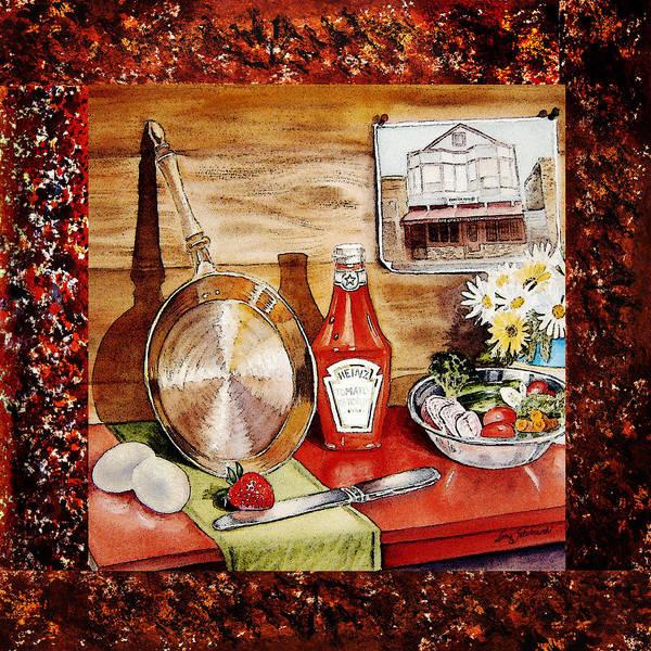 Design Painting - Home Sweet Home Welcoming Five by Irina Sztukowski