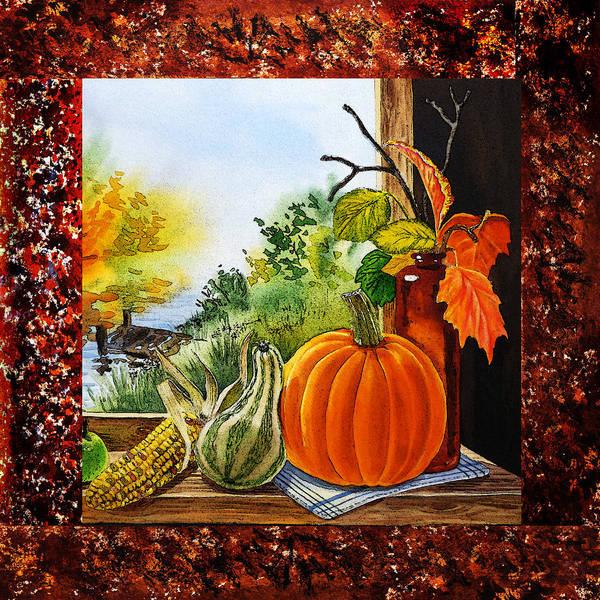 Painting - Home Sweet Home Welcoming Four by Irina Sztukowski